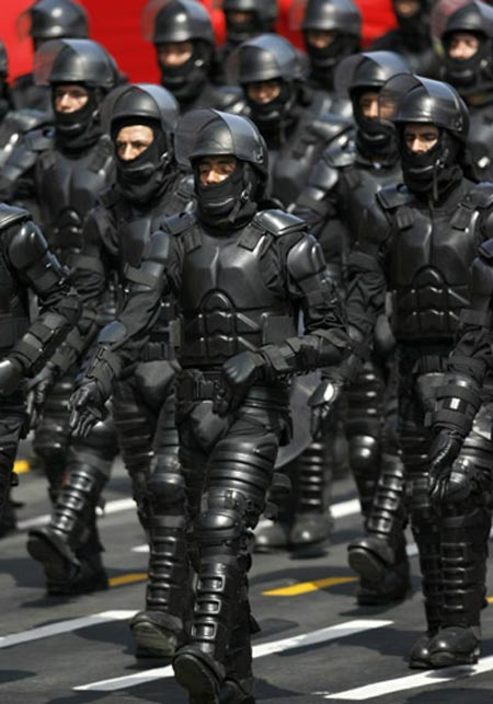 What the Police might look like in Zille's Nightmare Vision for SA
