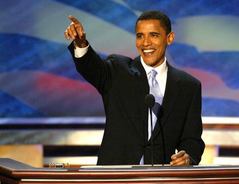American Flag Barak Obama