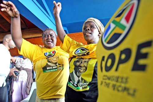 cope and anc election predictions predicting the elections in South Africa